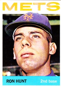Ron Hunt: Something else for Mets fans from 1963 to 1966.