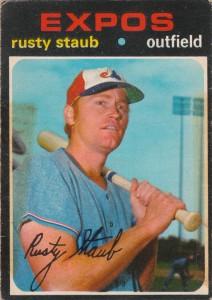 1971 Topps Rusty Staub