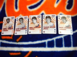 The Cards deal in heritage. The Mets deal playing cards.