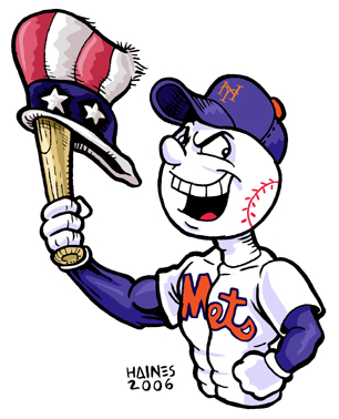 Mr. Met Triumphant