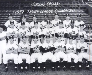 The toast of Dallas. (Salty is front row, center.)