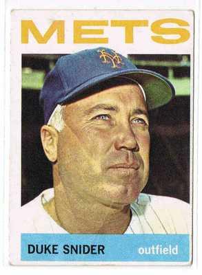 Duke Snider 1964 Topps