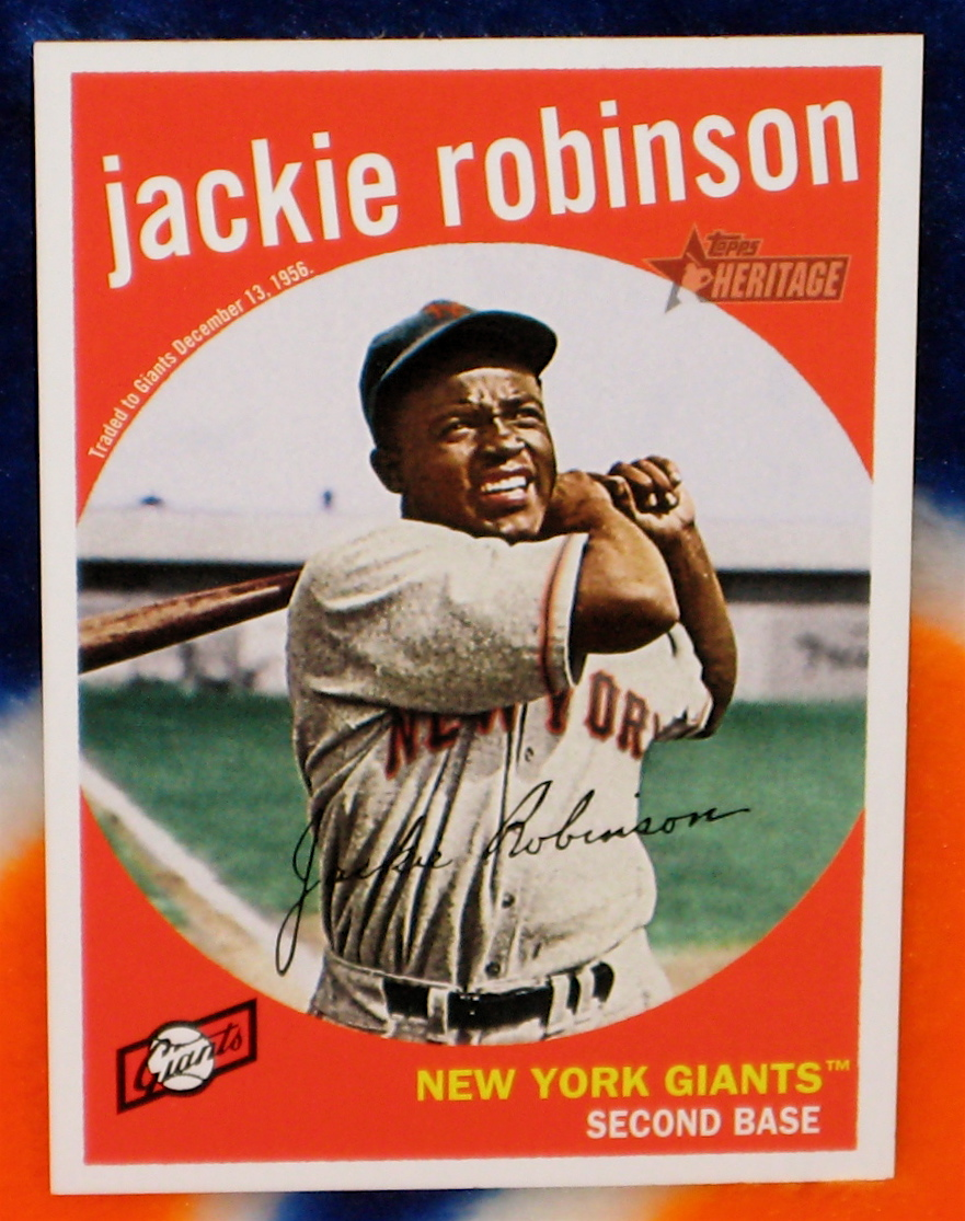 Jackie Robinson Baseball Trading Cards This might blow fred wilponu0026#39;s ...