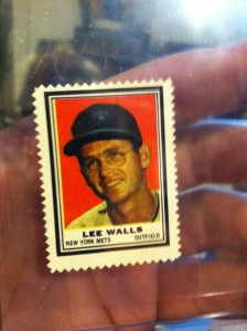 62 Topps Stamps Lee Walls