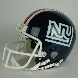 What the stylish New York Football Giant wore at Shea the final year there were, geographically speaking, New York Football Giants.