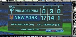 There's a winning Mets score you don't see any day.