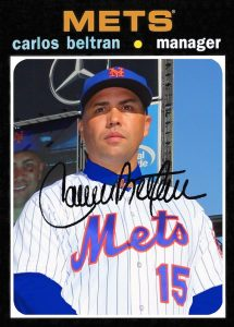 71-style Beltran manager card