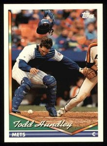 Todd Hundley's 1994 Topps card