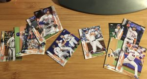 image of 2020 Topps Mets cards