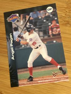 2001 Brooklyn Cyclones Angel Pagan card