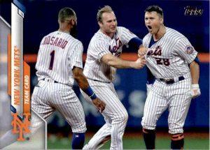 Mets Team Card 2020 Topps