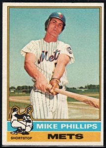 Mike Phillips 1976 Topps card